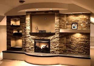 Living room--air stone-- Lowes