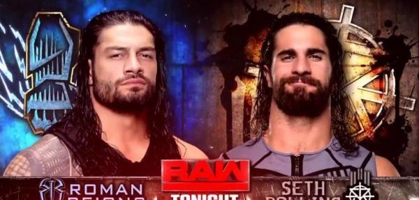"""WWE Raw: Roman Reigns, Seth Rollins clash Sitemize """"WWE Raw: Roman Reigns, Seth Rollins clash"""" konusu eklenmiştir. Detaylar için ziyaret ediniz. http://xjs.us/wwe-raw-roman-reigns-seth-rollins-clash.html"""