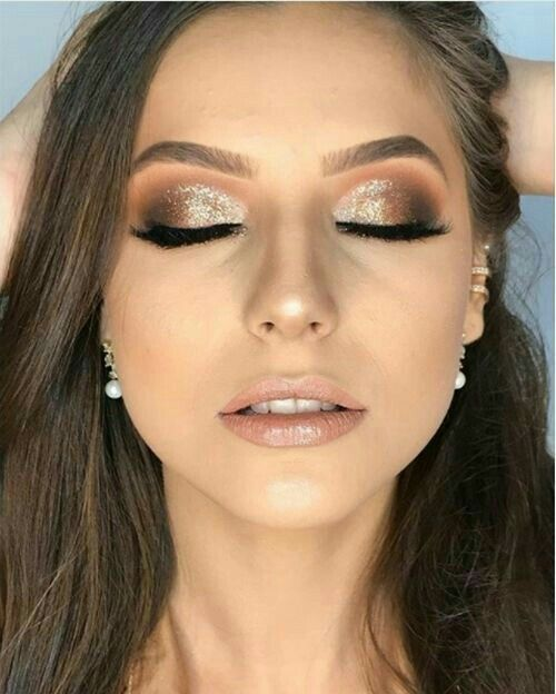 Pinterest Littlemillelemos Machiaje Glam Makeup Look Holiday
