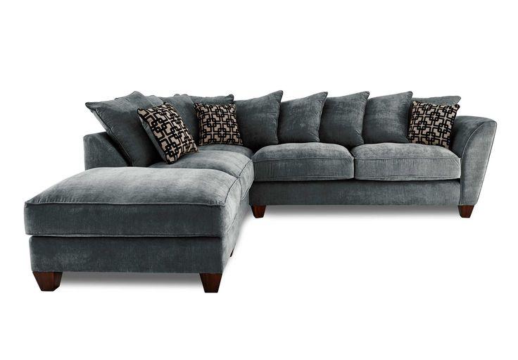 Furniture Village Sofas lhf scatter back corner sofa - tangier - gorgeous living room