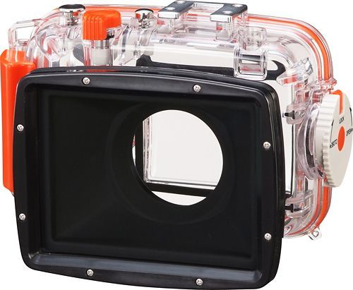 Fujifilm - Waterproof Camera Case - Clear, UNDERWATER HOUSING CASE CLEAR
