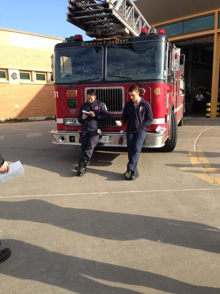 Chicago Fire: Severide (Taylor Kinney) and Casey (Jesse Spencer) | Shared by LION