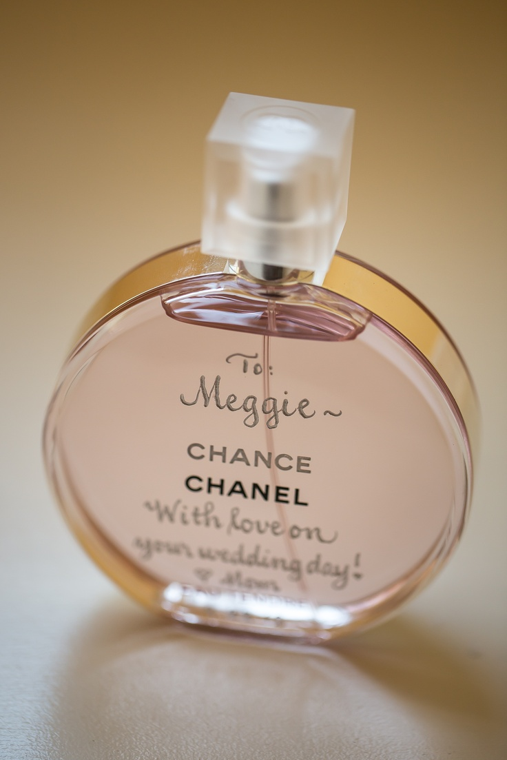 THE FRAGRANCE: I was told that on your wedding day, you ...