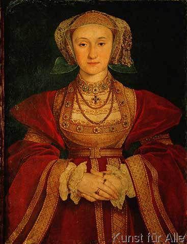 Hans Holbein der Jüngere - Anna von Cleve / Holbein