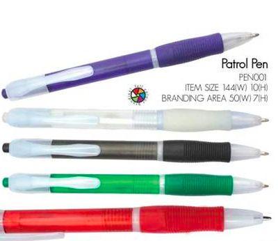 Patrol Pen incl 1 color Print R2.70, Logo Setup R175 Valid until 25 April 2014