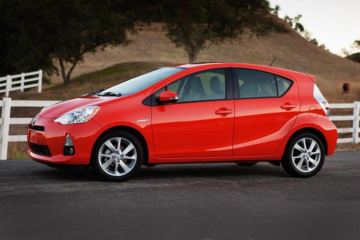 Toyota Prius c. Under 20k starting price and 53mpg city