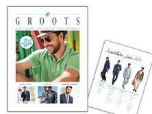 Bogers XL Herenmode uit Roosendaal brengt de modernste mode voor de man met de andere maat. Van 2XL-8XL. Het magazine 'groots' is uit voor voorjaar zomer 2016!