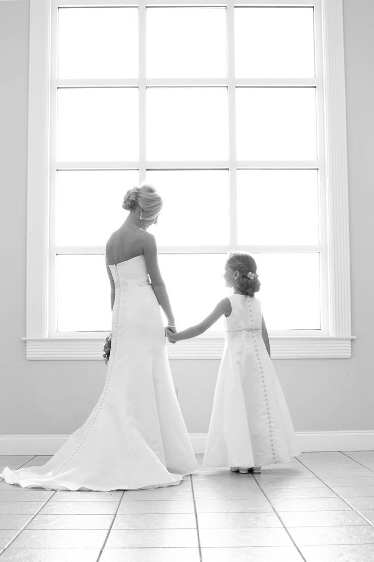Wedding picture...Mother & Daughter