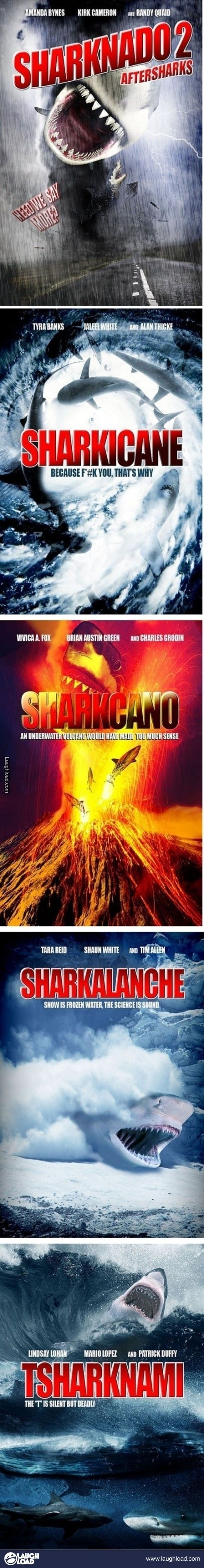 If every one of these was made as part of a Sharknado series, I would watch all of them.