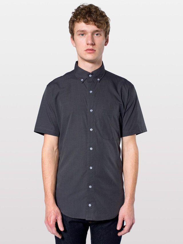 【イタリアンショートスリーブボタンアップシャツ】クラシックでモダンなイタリアンチェックのショートスリーブシャツ…