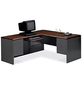 HON 38000 Series L Workstation | Home Office Inspiration | Pinterest