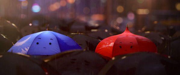 """Pixar's """"The Blue Umbrella"""""""