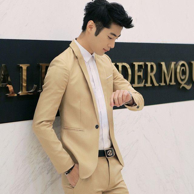 MarKyi 2017 new arrival cheap mens blazers casual fashion singer button solid men blazer slim fit size m -3xl