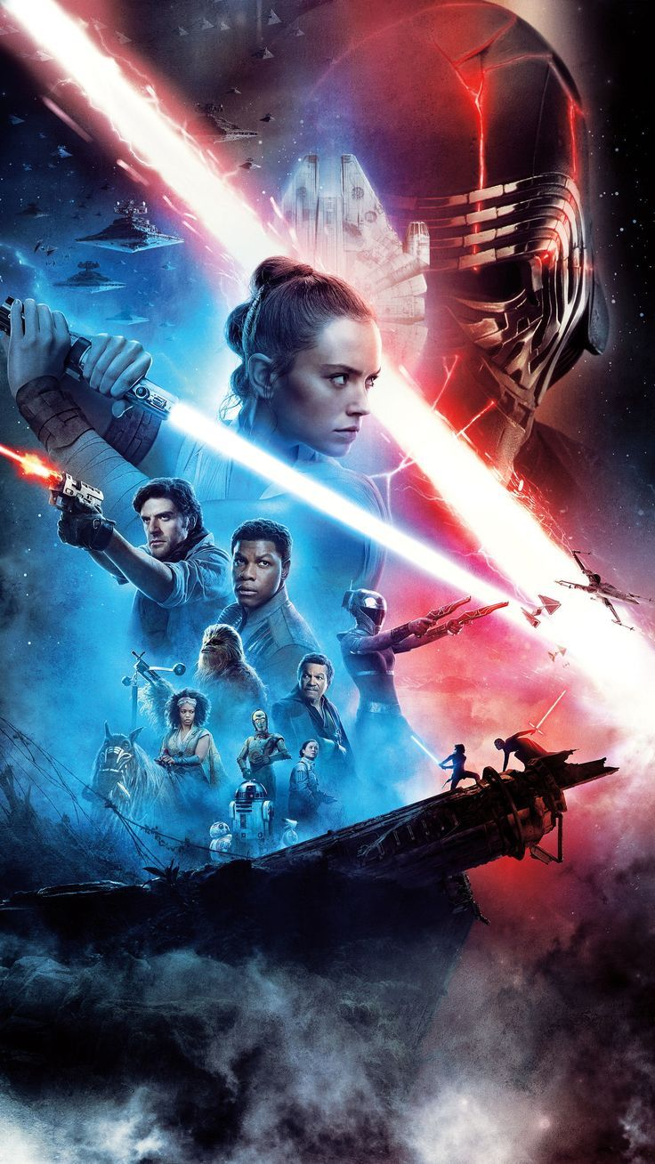 6 Reasons To Watch Star Wars The Rise Of Skywalker Star Wars Movies Posters Star Wars Background Star Wars Episodes