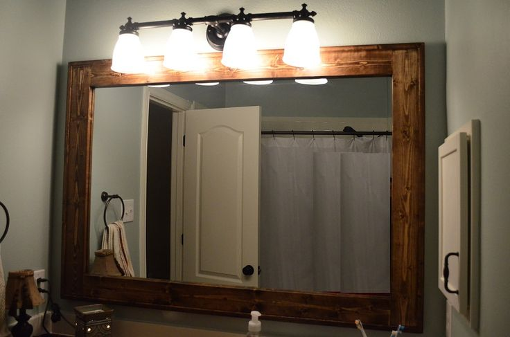 Unique DIY Vanity Mirror