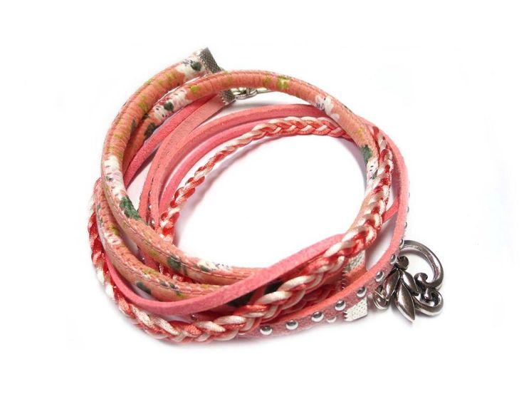 Tutorial Wikkel armband met trendy koord | Beads Creations Kralen en Sieraden Maken Alle onderdelen shop je via www.beadscreations.nl
