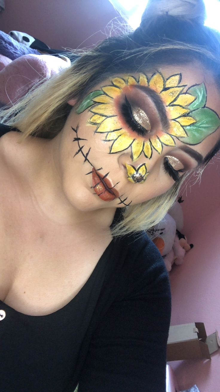 Pin by Rosa Avalos on makeupbyrosaam Scarecrow makeup