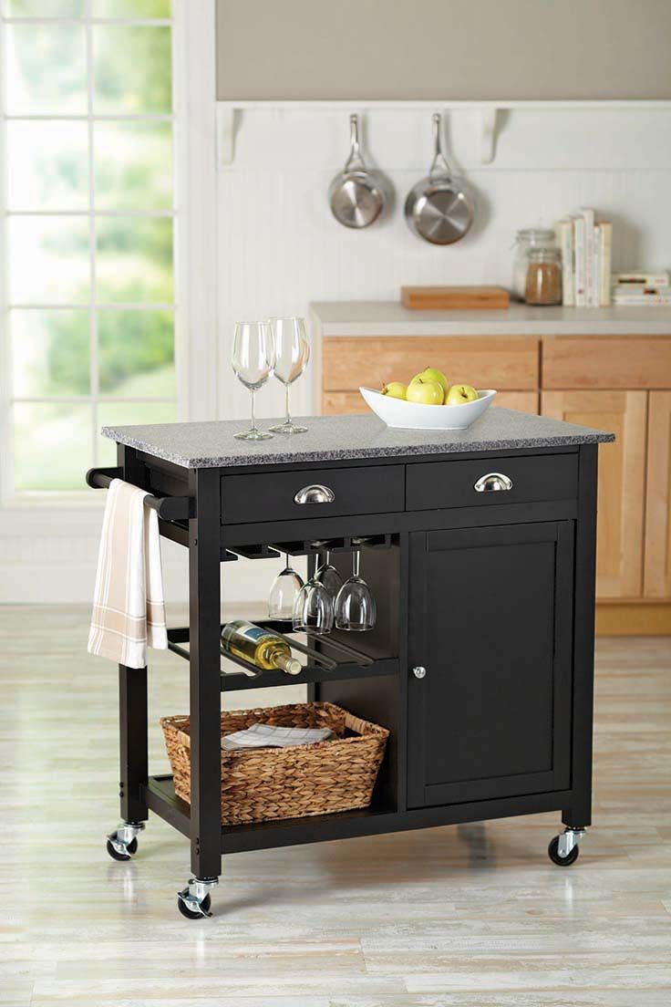 Better Homes And Gardens Deluxe Kitchen Island @BHG Live Better