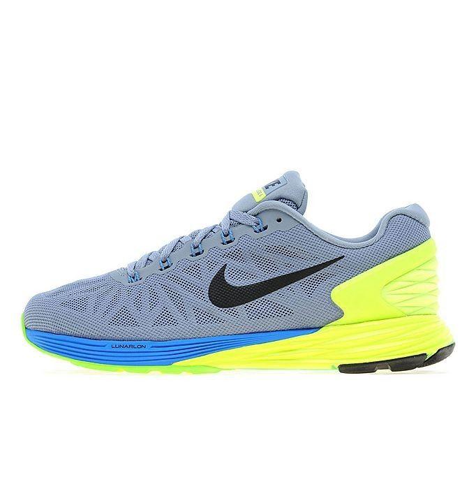 Nike Lunar 6 Geel Dodger Blauw Marmer Grijs - Dames Nieuwe