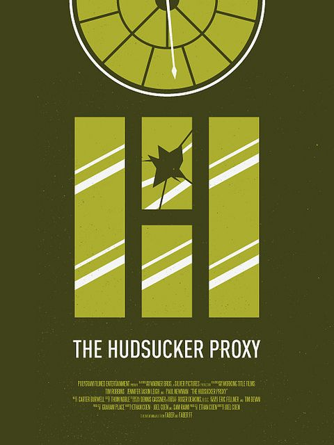 The Hudsucker Proxy: One of my favorite Coen Brothers movies.  And one of their more underrated ones.