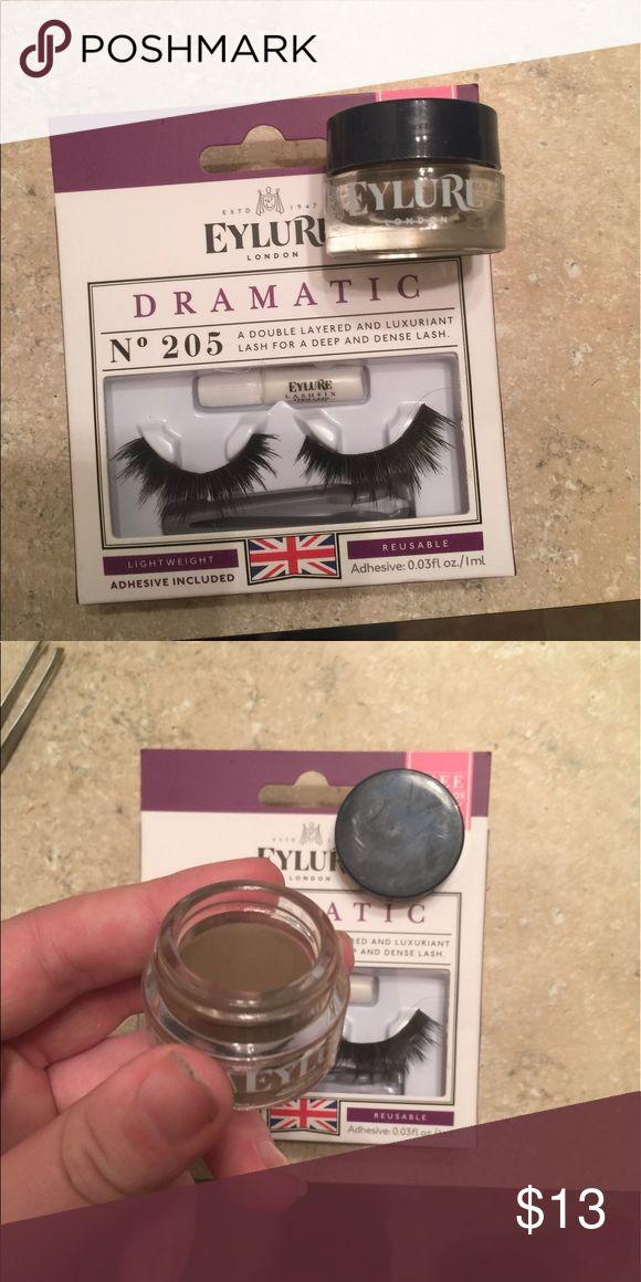 Brand new eyelure lash set and brow pot Brand new eyelure set lash extensions and brow pot eyelure Makeup False Eyelashes