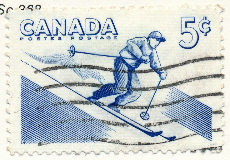 Outdoor recreation, Alpine Skiing (issued 1957)