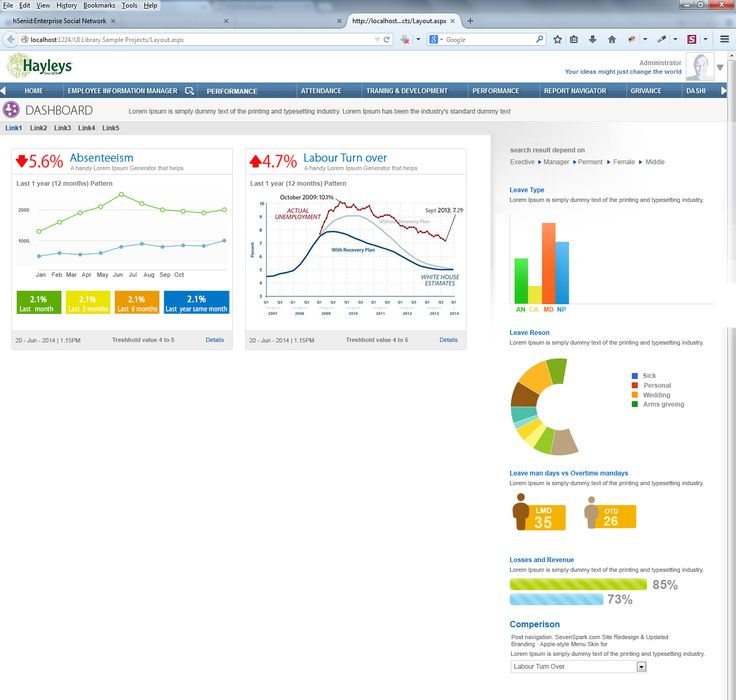 7 Best Hr Dashboard Stuff Images On Pinterest | Dashboards