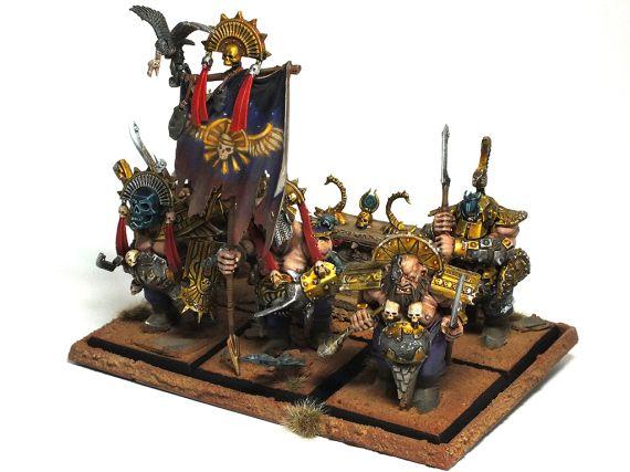 Ogre Kingdoms #warhammer #whfb #aos #ageofsigmar #gamesworkshop #ogres #ogr #miniatures #hobby #minis #models #geek #wargaming