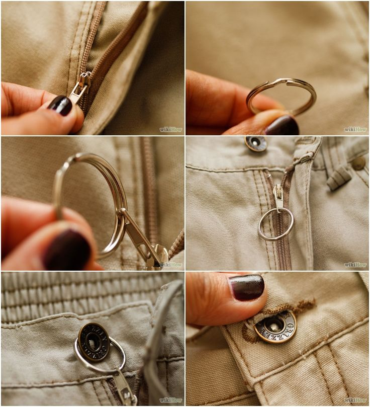 for my son!!!!!!!!!!How to Stop a Zipper from Unzipping Itself