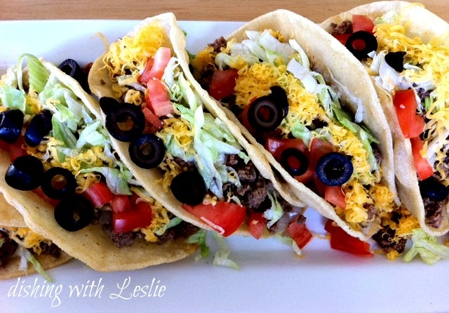 Tasty Tacos (Seasoning Packet Free)  And just in time for Taco Tuesday!