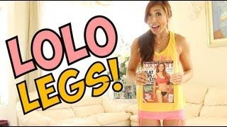 Lolo Jones Legs 'n Lunges Challenge | Invade London, via YouTube.