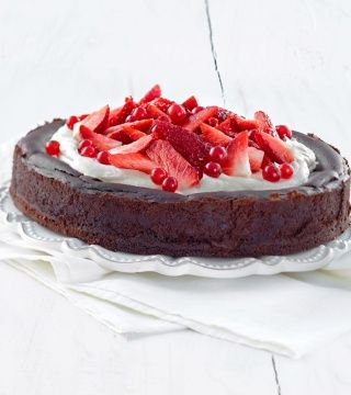Samettinen suklaajuustokakku - Reseptit - Keksihylly