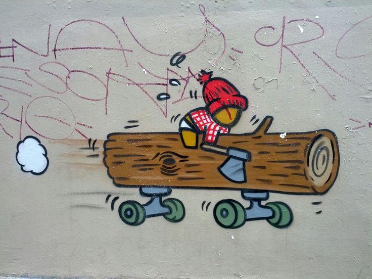Gouzou #Streetart #Paris street art 000