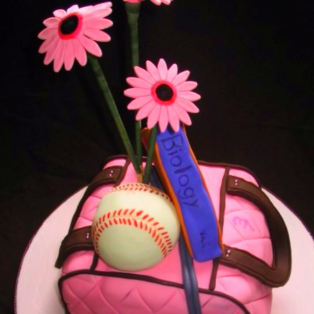 Pink purse cake filled with goals and loves in life
