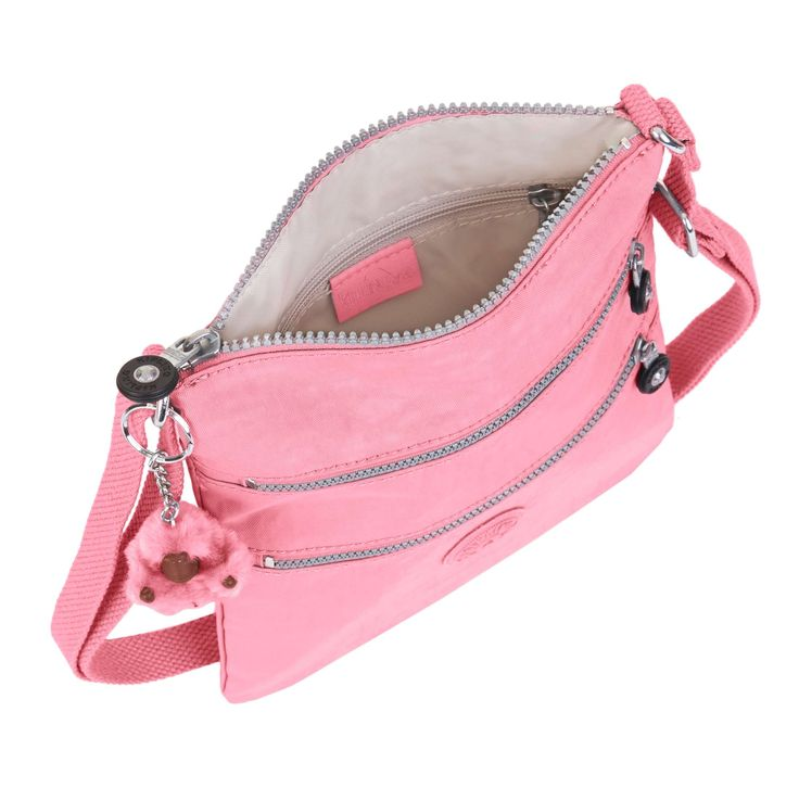 Keiko Crossbody Minibag - Macarrones rosados | Kipling