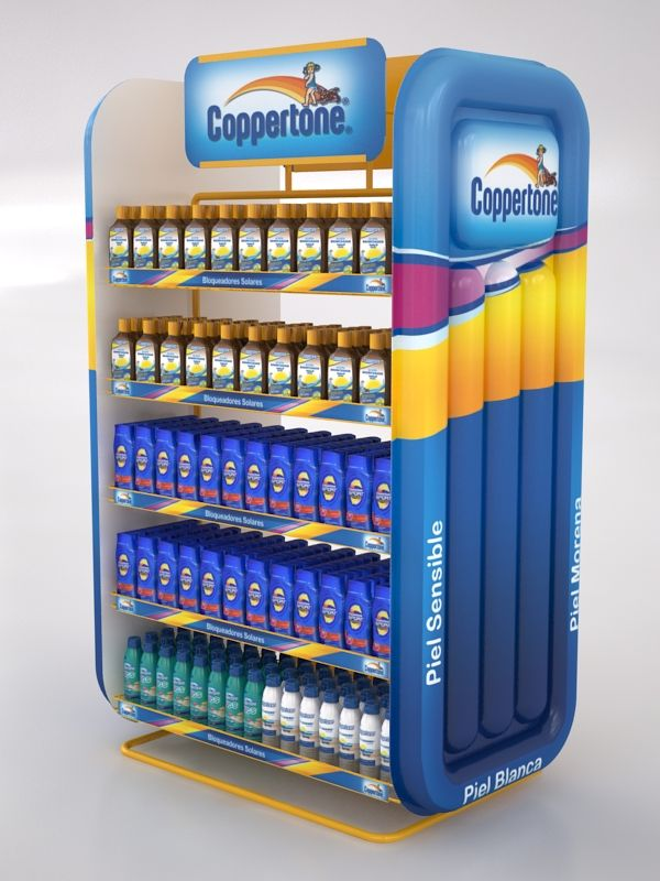 Coppertone Displays by Ricardo García at Coroflot.com