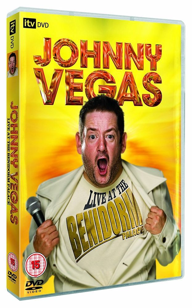 Johnny Vegas: Live At The Benidorm Palace [DVD] Brand New Same Day dispatch