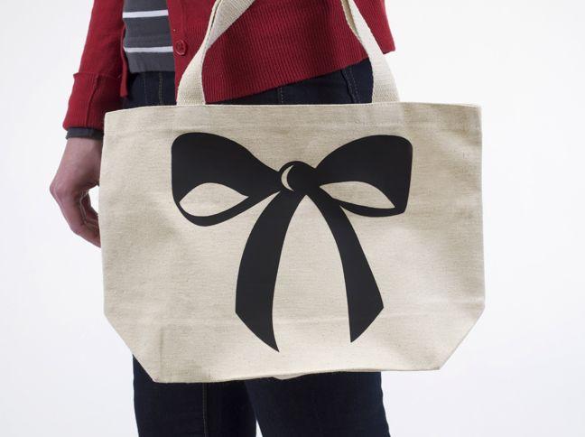 Custom Canvas Bag Tutorial