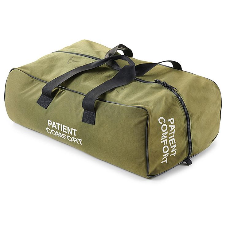Used U.S. Military Surplus Medic Roll Bag • 18 pockets to store essentials