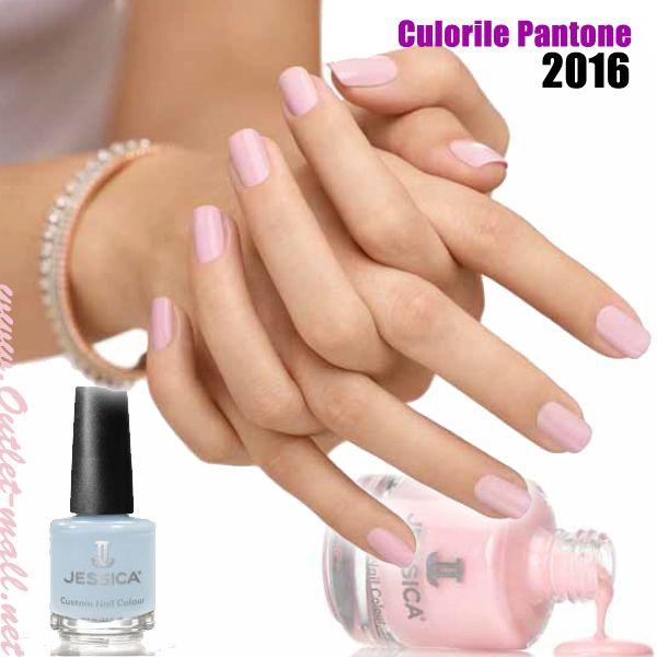 Fii Speciala cu manichiura in culorile anului 2016 Pantone cu lac de unghii Jessica 7-Free!