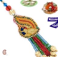 A1rakhi comes with Lumba Rakhis for Bhabhi. We have vast collection of Lumba Rakhi with New Designs, Send Lumba Rakhi to India for Bhabhi with Free Gifts from India