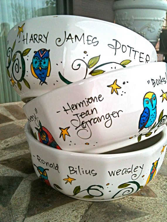 Harry Potter Bowl Set