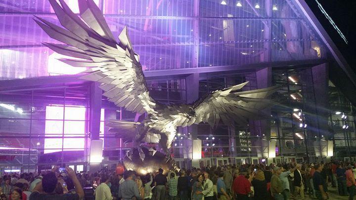 #tickets Atlanta Falcons vs Tampa Bay Bucs Tickets , Mercedes-Benz Stadium row 8 please retweet