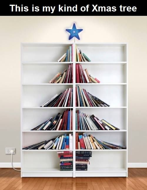 Now that's what I call a book tree!