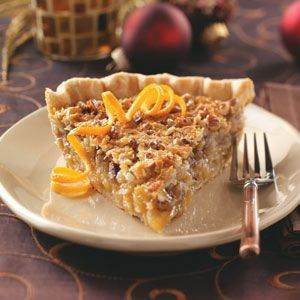 Pecan Pie Recipes from Taste of Home, including Ambrosia Pecan Pie Great
