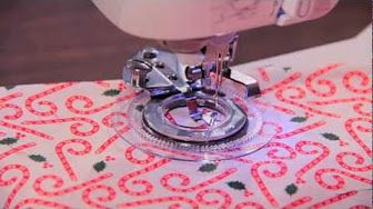 C9store decorative flower stitch (daisy) presser foot ONLY $9.99 - YouTube