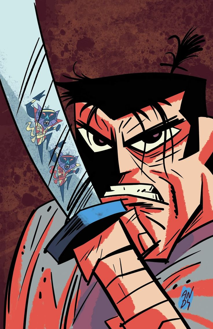 Samurai Jack by Andy Suriano  One of the coolest short lived cartoons ever!