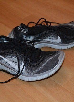 Kaufe meinen Artikel bei #Kleiderkreisel http://www.kleiderkreisel.de/damenschuhe/hallenschuhe/142688913-nike-free-50-schuhe-40-41-schwarz-grau-weiss-sport-kostenloser-versand