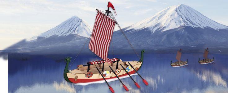 El Drakkar Vikingo, el barco más temido de todos los mares del norte.