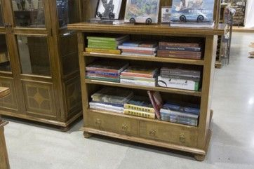 2 Drawer Low Open Bookcase